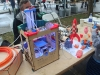 Modified MakerBot Cupcake 3D Printer