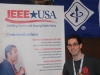 At the IEEE Booth