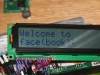 Closeup of the Title LCD