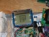 Closeup of the Graphical LCD