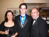 With my Parents at the Black-Tie Reception