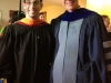 Me with my Advisor, Professor Clif Pollock