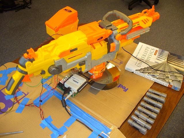 Being Demoed in the Robotics Lab