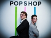 Jeremy and Jesse Reppin' the PopShop