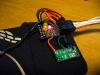 Gyroscope and LEDs