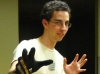 Jeremy Wielding the Glove