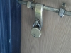 The lock for my room in the vistor\'s hostel