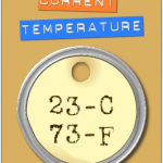 Sexy Temperature Display